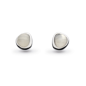 Coast Pebble Moonstone Mini Stud Earrings