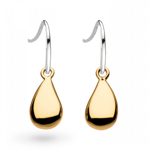 Coast Tumble Gold Drop Earrings