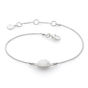 Coast Pebble Stone Moonstone Mini Bracelet