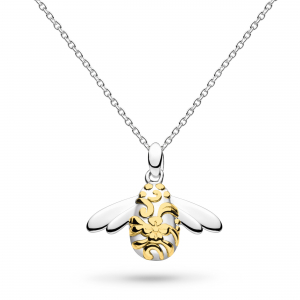 Blossom Bumblebee Gold Necklace