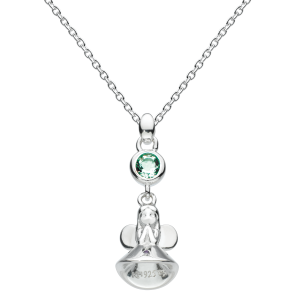 Girls Necklace Fairy Birthstone May