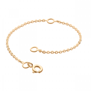 Gold Plated Chain Extender 4""