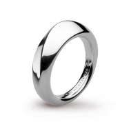 Sterling Silver Bevel Cirque Ring by Kit Heath