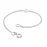 """Chain Extender 4"""" by Kit Heath in Highly Polished Sterling Silver"""